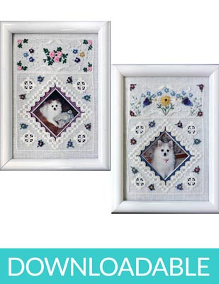 flower frames in hardanger embroidery downloadable pdf nordic needle
