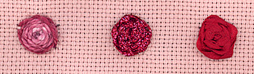 History of the rose save stitches by nordic needle